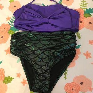 Other - Girls mermaid bikini size 6/7